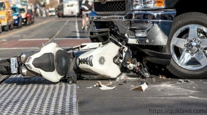 Head On Motorcycle Crash Lawyer